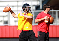 EF1G0124-Searcy Sr. all-league QB Andrew Neaville threw 10 TD passes in the final three games last season including 3  in the first half of the game vs. Cabot